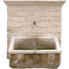 18th c. Stone Auge Fountain at 1stdibs