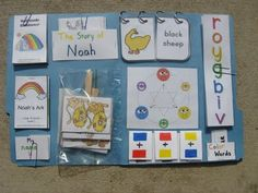 Noah & Rainbow Lapbook