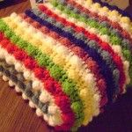 Blackberry Salad Stitch Part Deux - The Throw! free crochet pattern