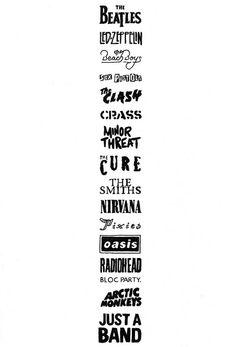 Quoteskine band logos drawing