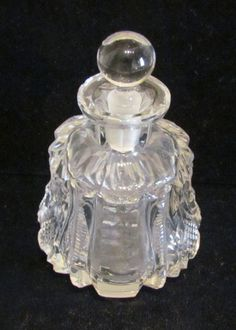 Antique Perfume Bottle Cut Crystal Perfume by classiccollector