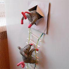 Мышки на холодильник своими руками 365