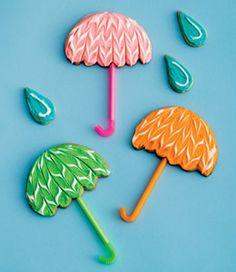 Umbrella cookies :-)