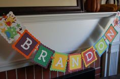 Monster Banner Name Banner Monster Theme Monster by GiggleBees