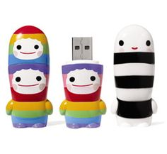 MoMA Store - Mimobot USB Flash Drives: Fun Jump Drives