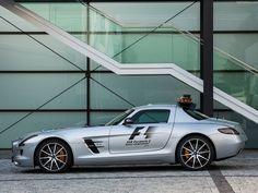 Mercedes SLS AMG GT F1 Safety Car