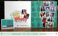A Video by bluestardesign from our Scrapbooking Cardmaking Galleries originally submitted 03/22/13 at 07:59 AM galleries, scrapbook inspir, buckets, bluestardesign, 2page scrapbook, photo booths, scrapbook layout, scrapbooking supplies, peas