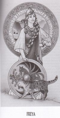 Norse Goddess Freyja.