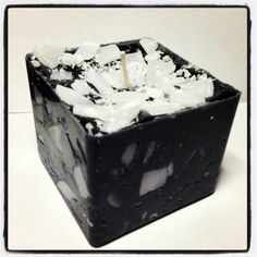 Coffee scent handmade candle  black and white by Inspiredcandles, $8.00