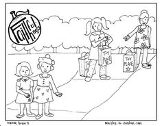 """Faithfulness """"Fruit of the Spirit"""" Coloring Page"""