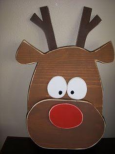 Reindeer - Wood Craft  Winter/Christmas