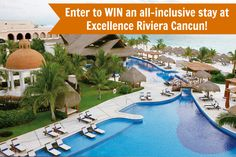 Good Luck!!! ~ Enter to WIN an all-inclusive resort stay at Excellence Riviera Cancun. CLICK TO ENTER!