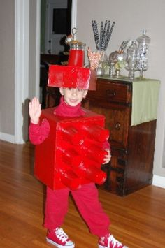 Lego Man - 60 Fun and Easy DIY Halloween Costumes Your Kids Will Love