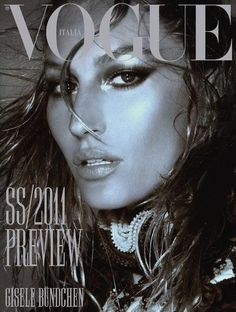 Vogue Italia - Vogue Italia December 2010 Cover
