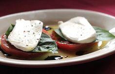 Caprese Salad Perfection at Vincent's Italian Cuisine.
