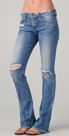 The Skinny Micro Flare Jeans