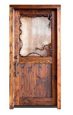 Western door.  Very cool.