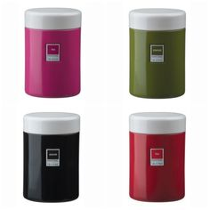 Pantone kitchen storage canisters.