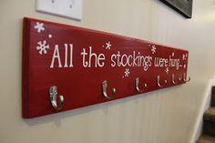 listfullyblissful: No Mantle Stocking Solution