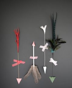DIY Cupid Arrows
