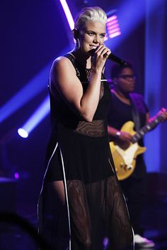 """July 14: Betty Who performs """"Somebody Loves You"""" on Late Night with Seth Meyers."""