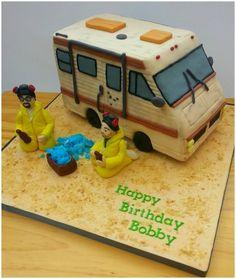 Breaking Bad birthday cake...lol