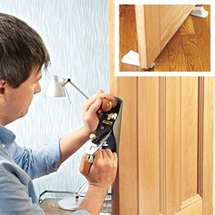 How to unstick a door. | Photo: Laura Moss | thisoldhouse.com