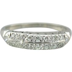 Might just be the perfect wedding band for my ring