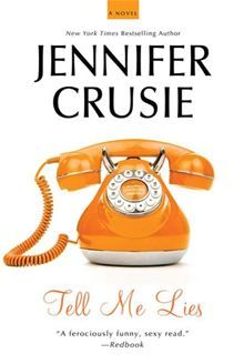 Tell Me Lies by Jennifer Crusie. This is one of Ms. Crusie's earlier novels. I enjoyed it, but it wasn't the best book I have ever read. There were some plot elements that I thought were sort of unbelievable. However, if you are looking for a decent distraction this book is will do.