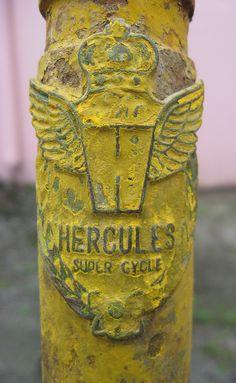 The hercules super cycle headbadge by burperusmaximus, via Flickr