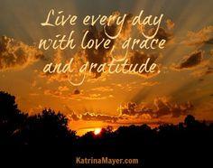 love, grace and gratitude