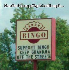 Those pesky senior citizens - lol