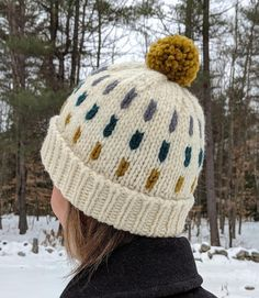 Winter King Hat Knit