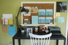 Letter-writing station