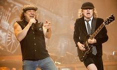 AC/DC's Brian Johnso