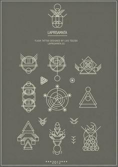 Flash Tattoo by Luis Toledo LAPRISAMATA 2012  http://laprisamata.es  ††††††††††††††††  #geometric #tattoo