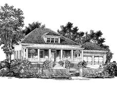 Eplans Southern House Plan - Miss Maggies House from The Southern Living
