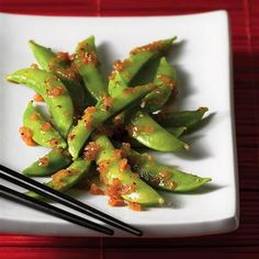 Asian-Style Sugar Snap Peas