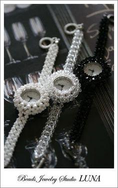beads watch   http://beads-studio-luna.com/
