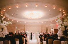 Intimate Wedding in Four Seasons Boston Govenor's Ballroom