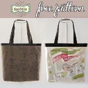 Cabôtin Tote bag - via @Craftsy