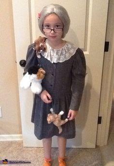 Crazy Cat Lady - Homemade Halloween Costume