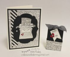 CONVENTION BOUND! :: Confessions of a Stamping Addict Tap Tap Tap! Lorri Heiling