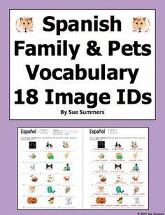 family vocabulary games unit in spanish la familia 36. Black Bedroom Furniture Sets. Home Design Ideas