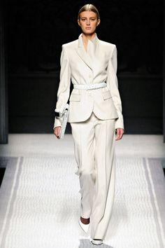 runway fashion, alberta ferretti, alberta feretti, fall 2012, suits