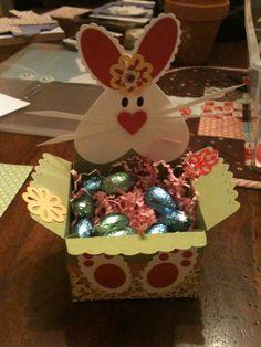 bunny baskets - Big Shot & scallop envelope die