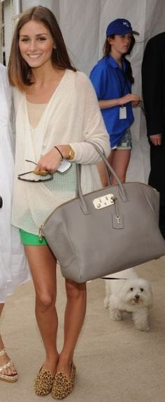 Love her bag and shoes