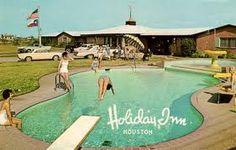 The West Houston Holiday Inn, 1972.
