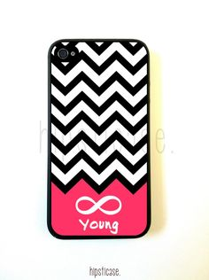 Forever Young Chevron iPhone 5 Case - For Iphone 5