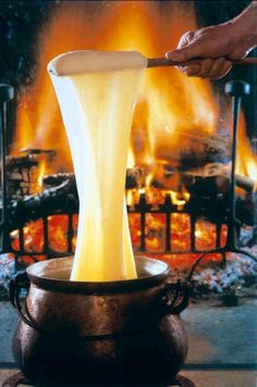 Local Products of the Lot Valley, France.  One of the many reasons I live here....ALIGOT!!!